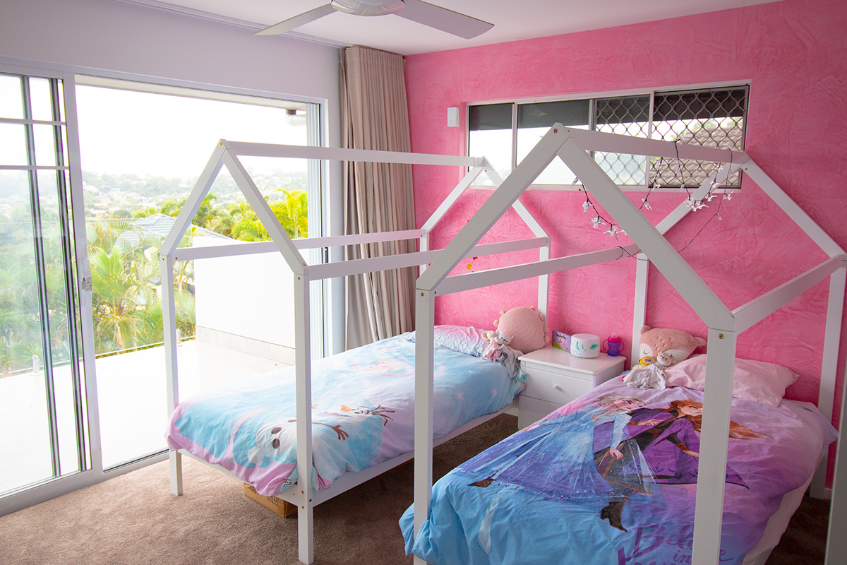 kids room cubby beds renovation gold coast