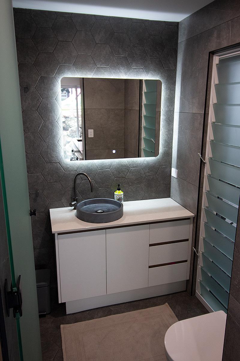 small toilet bathroom renovation gold coast