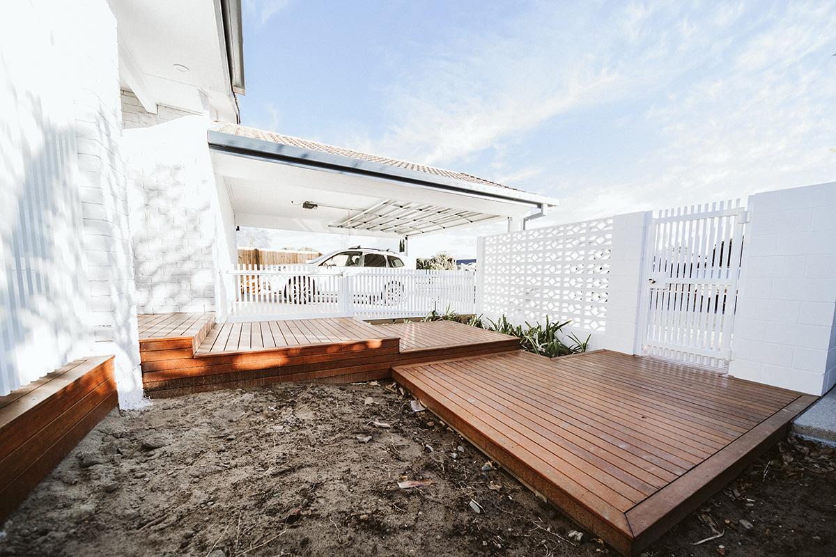 decking entrance step builder gold coast